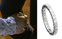 """Uhm Jung Hwa in """"Witch's Romance"""" Episode 10.  Agatha Paris LIEE Crystal Paved Band Ring  #Kdrama #WitchsRomance #마녀의연애 #UhmJungHwa #엄정화"""