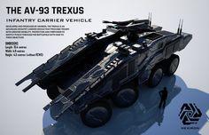The AV-93 Trexus ICV (FULL HD) by Duskie360 on DeviantArt