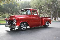 Another not-a-59, but what a stunning truck and amazing color! chevy trucks, gmc trucks, toy, chevi truck