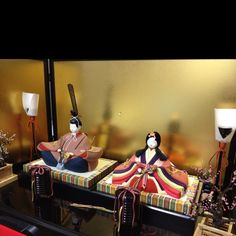 Japanese Hina Dolls (Couple)
