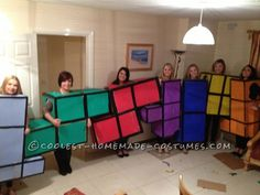 Original Tetris Blocks Group Costume ... This website is the Pinterest of costumes
