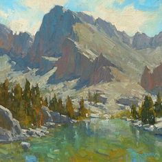 Treeline Lake - Bill Cramer