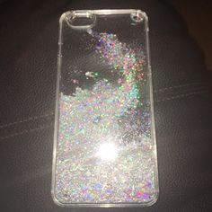 iphone 6s plus glitter water case used for 1 day super cute accessories phone