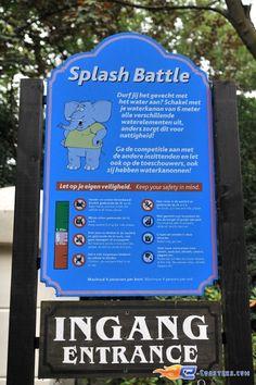 14/14 | Photo de l'attraction Splash Battle située à Walibi Holland (Pays-Bas). Plus d'information sur notre site www.e-coasters.com !! Tous les meilleurs Parcs d'Attractions sur un seul site web !!