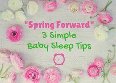 Make sure your baby is prepared for daylight savings! Tips, sample shekel and more! http://violetsleepbabysleep.com/daylight-savings-baby-sleep-tips/