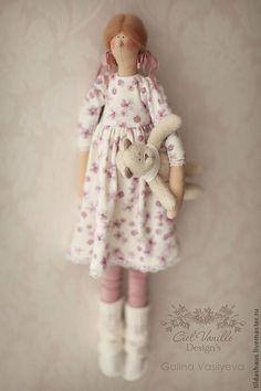 Куклы Тильды ручной работы. Ярмарка Мастеров - ручная работа Клушенька. Handmade.