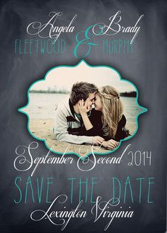 Class and Love Save the Dates by FPStationary on Etsy
