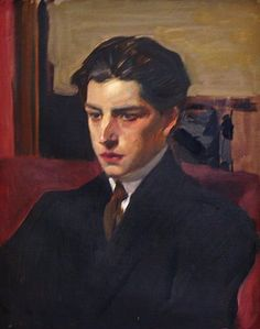 Joaquin Sorolla y Garcia son of the artist - portrait by Joaquin Sorolla y Bastida - circa 1917 - century // oil painting - male portraits - portraits of men Renaissance Kunst, Art Anime, Classical Art, Portrait Art, Male Portraits, Aesthetic Art, Traditional Art, Art Inspo, Painting & Drawing