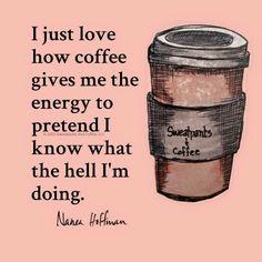 coffee ~ my side kick
