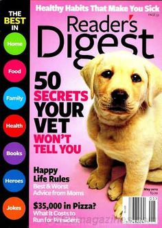 Reader's Digest-Large Print Edition is the easier-to-read version of the beloved monthly lifestyle magazine. Each monthly issue is filled with articles about American culture, health, cooking, and useful tips.