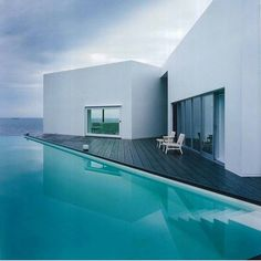 Escape to the zen house in Wakayama Japan. Design by Ando corporation. #design #pooldesign #engineering #architecture #ontheinsideinteriors by ontheinside_interiors Creative backyard pool designs.
