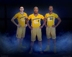 Warriors adidas Short Sleeve Uniforms