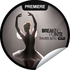 Breaking Pointe Premiere...Take a look into the world of a professional ballet company.  It may look pretty, but these swans have a dark side. Leap to GetGlue.com and check-in for exclusive stickers!