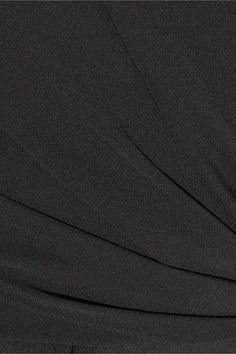 Juan Carlos Obando - Wrap-effect Silk-chiffon Gown - Black - US14