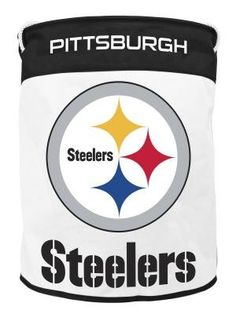 NFL Pittsburgh Steelers Canvas Laundry Bag >>> Want to know more, click on the image.