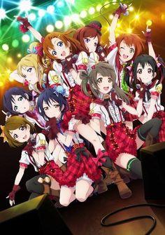 Eli, Honoka, Maki, Rin, Nozomi, Hanayo, Umi, Kotori, and Nico ~Love Live! School Idol Project