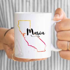 Items Similar To Personalized Gift For Coworker California Coffee Mug Goodbye Boss Going Away Farewell Mu279