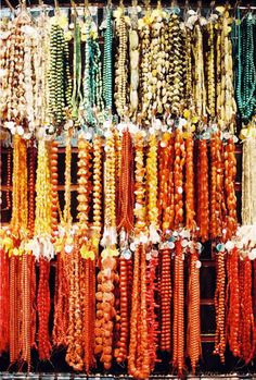 Beads - one can never have too many beads!  Love them all!