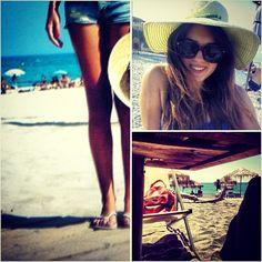 #summer #doca #greece #bags #hat Travel Around The World, Around The Worlds, Bag Accessories, Pilot, Sunglasses Women, Aviation, Greece, Hat, Summer