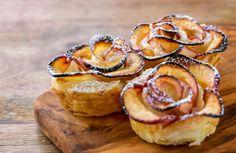 Baka äppelrosor på dina höstäpplen (nästan för fina för att äta!)