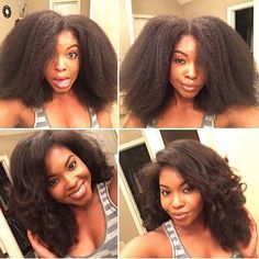 Dry Braid Out on the Kinky Straight Texture Blow Dry Natural Hair, Long Natural Hair, Natural Hair Styles, Long Hair Styles, Natural Girls, Afro Hairstyles, Straight Hairstyles, Hairdos, Kinky Straight Hair