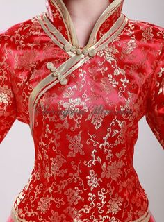 Attire wholesaler: shop for high quality wholesale products on DHgate and get worldwide delivery. Buy China wholesale products from reliable Attire wholesaler Asian Style, Chinese Style, Chinese Fashion, Traditional Chinese Wedding, Traditional Dresses, Chinese Clothing, Chinese Dresses, Asian Bridal, Cheongsam