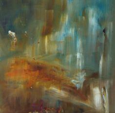 "Alli Hill; Painting, ""Sunset"""