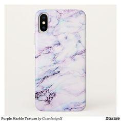 Shop Purple Marble Texture Case-Mate iPhone Case created by CasedesignX. Diy Phone Case, Iphone Cases, Diy Resin Art, Aesthetic Phone Case, Purple Marble, Marble Texture, Iphone Accessories, Phone Covers, Apple Iphone