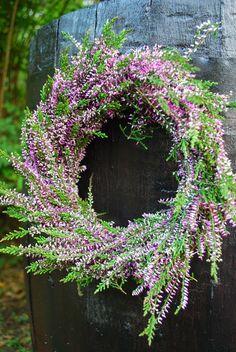 Var Dag i Mitt Liv: Otät regntunna #couronne de #fleurs