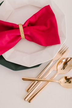 Pink, orange, gold + black party  {Style Me Pretty}