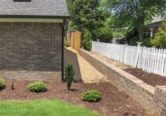 brick walls landscaping ideas pictures | Retaining Walls Atlanta | Stone Fireplaces | Atlanta Stonework | Stone ...