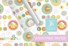 """Gift Wrap for Girls Birthday 