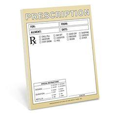 knock knocks prescription nifty notes are fake doctors prescription note pads