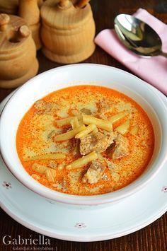 Gabriella kalandjai a konyhában :): Palóc leves -akár bográcsban készítve Healthy Soup Recipes, Cooking Recipes, Healthy Food, Good Food, Yummy Food, Health Dinner, Veggie Soup, Hungarian Recipes, Slow Cooker Soup