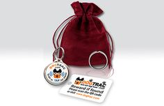 DogTrac Limited Edition Bundle 1x Smart ID Tag and 1x Smart Key Tag #dogs #puppies #doghacks