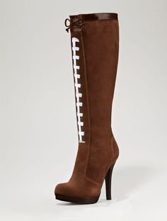 HERSTAR™ Women's Pigskin Football High Heel Boots- OMG!! Need These!!! Love Them!!!!!!