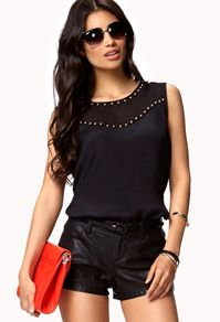 Essential Crepe Woven Top | FOREVER21 - 2060969716