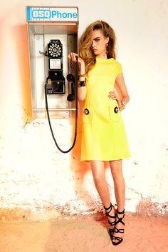Dsquared2 Resort S/S 2013.  Model - Cara Delevingne.