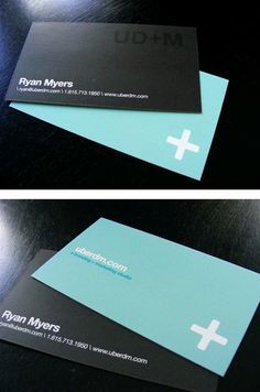 Post image for UberDM's Simple Business Card