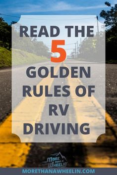 Here are 5 essential tips that will give you the insight to drive your RV with confidence and skill.  RV driving is not as complicated as it may seem when you use the RV driving advice here.  Knowledge is power when it comes to driving a RV.  #drivingarv #rvdrivingtips #rvdriving #drivingrvmotorhome #rvliving