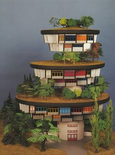 hundertwasser - high-rise meadow house by manhardt by Doctor Casino, via Flickr