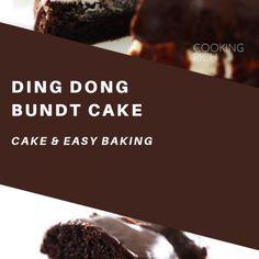 This Ding Dong Bundt Cake is definitely a […] Chocolate Cake Mixes, Chocolate Pudding, Homemade Chocolate, Chocolate Ganache, Donut Muffins, Doughnut Cake, Cinnamon Cheesecake, Cake Recipes, Dessert Recipes