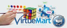 VirtueMart es una aplicación de Cesta de Compra basada en PHP para la venta de productos a través de Internet. Se trata de un Componente (= plugin) para el Sistema de Gestión de Contenidos llamado Joomla! y no puede ser utilizado sin Joomla!. Su instalación es componente de instalación automática de Componentes y Módulos. Pensado para ser utilizado por pequeños/medianos negocios para operar en línea.