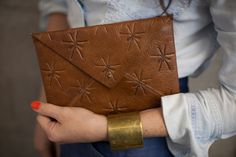 Clavin Leather Envelope