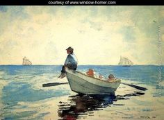 Boys in a Dory I - Winslow Homer