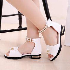 Baby Girl Shoes, Kid Shoes, Cute Shoes, Cheap Sandals, Kids Sandals, Summer Sandals, High Heels For Kids, Kawaii Shoes, Girls Heels