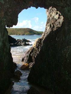 Whistling Sands, Llyn Peninsula, Wales