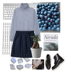 pale schoolgirl by verasunny on Polyvore featuring polyvore, fashion, style, TIBI, Common Projects, Muuto, Patagonia and tumblr