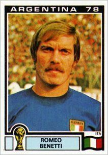 Panini Stickers Panini Football Sticker Albums Argentina 78 World Cup sticker Romeo Benetti - Italia, Argentina 78 World Cup ref. Football Stickers, Football Fans, Vignettes, World Cup, Baseball Cards, Sports, Albums, Milan, German