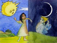 Η εναλλαγή ημέρας και νύχτας σε παραμύθι